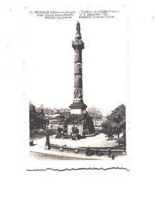 1922 Congress Column, Soldiers,  Brussels, Belgium
