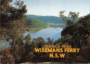 BR101955 greetings from wisemans ferry nsw hawkesbury river  australia