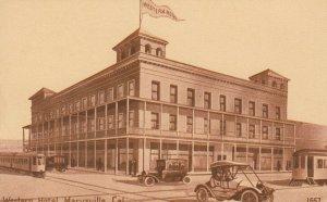 MARYSVILLE , California , 00-10s ; Western Motel