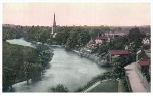 England Stratford on Avon  View of River