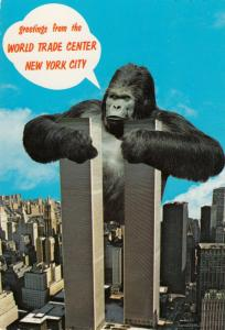 NEW YORK CITY , 60-70s ; World Trade Center & King Kong