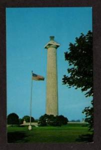 OH Perry's Victory Monument SOUTH BASS ISLAND OHIO PC