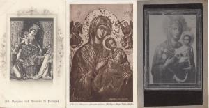 Pompeii Virgin Mary Notre Dame incl WW2 & Real Photo Italy Postcard s