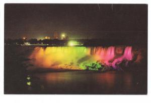 Canada Niagara Falls American Falls Illuminated