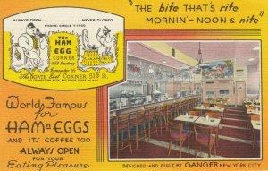 NEW YORK CITY , 1930-40s ; The Ham 'N' Egg Corner