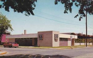 Modern Bus Terminal , NORTH BAY , Ontario , Canada , 1950-60s