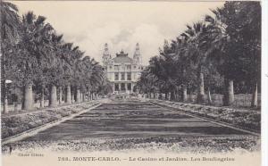 Monaco Monte Carlo Le Casino et Jardins Les Boulingrins