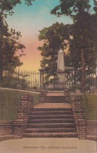 Monticello- The Jefferson Graveyard, Charlottesville, Virginia, 1900-1910s