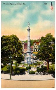 Pennsylvania Easton , Center Square