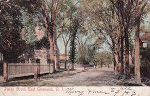 Pierce Street East Greenwich Rhode Island 1906