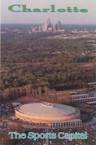 Sports Capital at Charlotte NC, North Carolina - Home of Hornets Basketball Team