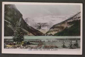 Lake Louise & Victoria Glacier Near Banff, Alberta - Used 1951