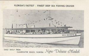 CLEARWATER BEACH , Florida , 1930-40s ; Fishing Boat Miss Buckeye III