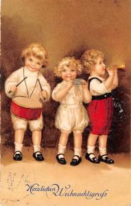 BG8370 children singing  weihnachten christmas greetings germany