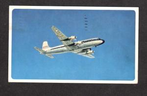 United Airlines Plane Airplane DC-6 Mainliner Aircraft Postcard Carte Postale