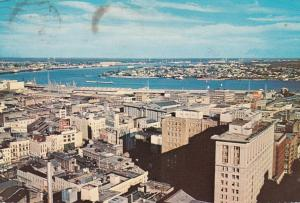 Louisiana New Orleans Aerial View Of Downtown 1975