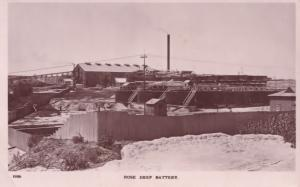Rose Deep Battery South African Diamond Mines Mining Real Photo Postcard