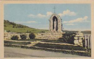 A Wayside Shrine, Quebec, Canada,  30-40s