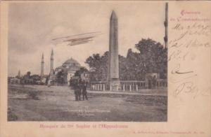 Turkey Constantinople Mosquee de Ste Sophie et l'Hippodrome