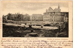 CPA AK Theatre et ancienne Prefecture (490025)