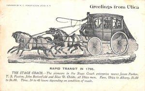 Rapid Transit in 1795 Utica, New York