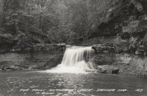 RP; SPENCER, Indiana, PU-1947; The Falls, McCormick's Creek