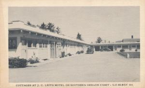 Cottages at J C Leith Motel on Southern Oregon Coast on US 101