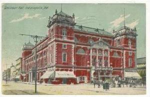 Tomlinson Hall, Indianapolis, Indiana, PU-1912