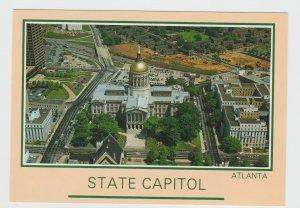 Georgia Atlanta State Capitol USA Postcard