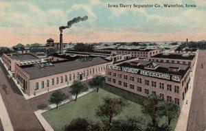 WATERLOO , Iowa, 1900-1910's; Dairy Separator Company