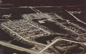 Aerial view of Thompson, Manitoba,  Canada, 40-60s