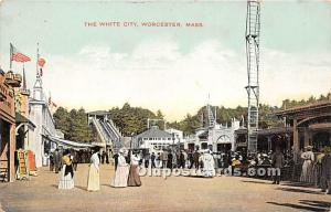 Worcester, Massachusetts, MA, USA Postcard The White City Unused