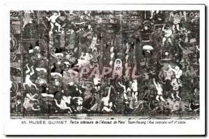 Old Postcard Musee Guimet Inferieure Part L & # 39Assaut Mara Tunhwang Centra...