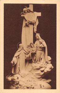 BR72549 groupe sculpte dominant le maitre autel lisieux  postcard  france