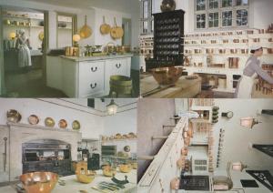 Longleat Kitchen Victorian Maid Crokery 4x Postcard s