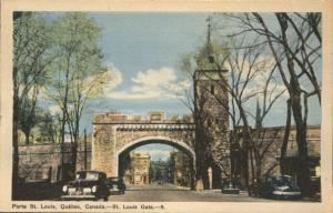The St Louis Gate - Quebec QC, Quebec, Canada - WB