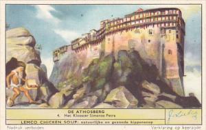 Liebig S1651 Mount Athos No 4 Het Klooster Simonos Petra