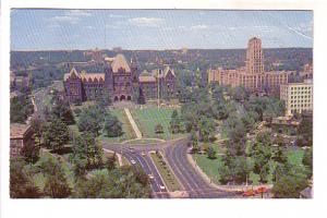 Provincial Parliament Buildings, East Block and Queen's Park, Toronto, Ontario,