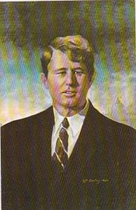 Robert F Kennedy Oil Painting by Charles J McCarthy