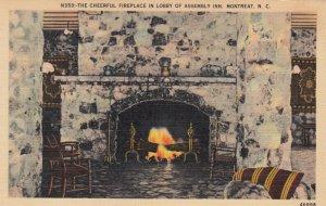MONTREAT , North Carolina , 1944 Assmbly Inn , Fireplace