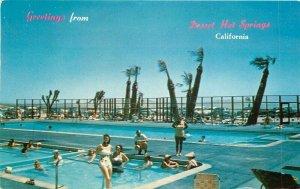 California Desert Highlands Hot Springs 1966 pool Western Coachellal 6365