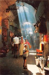 Israel Jerusalem Typical Scene Inside the Old City Market