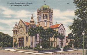 Florida St Augustine Memorial Presbyterian Church