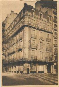 Postcard Hotel Restaurants Grenoble Touring hotel