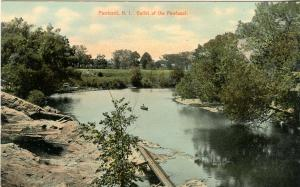 RI - Pawtuxet.  Outlet of the Pawtuxet River