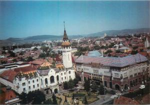 Romania Marosvasarhely Targu Mures general view postcard foto Nemes Gabriella