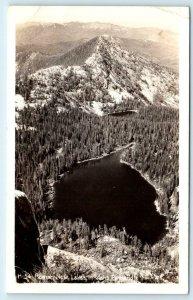 RPPC IDAHO PANHANDLE, ID ~ ROMAN NOSE LAKES  1943 Ross Hall  Postcard