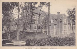 MASSACHUSETTS, 1900-1910´s; Founders' Hall, Wellesley College