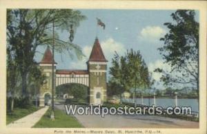 St Hyacinthe, PQ Canada, du Canada Porte des Maires, Mayors Gates St Hyacinth...