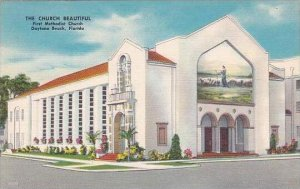 Florida Daytona Beach The Church Beautiful First Methodist Church